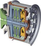 wheel-motor-cross-section